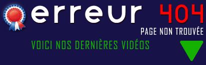 Erreur 404 - Francexe